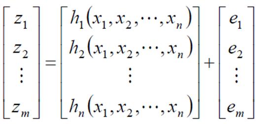 تخمین بار در یک فیدر توزیع نمونه (20kV)