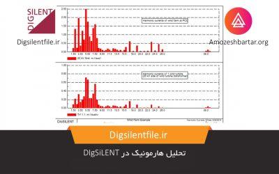 تحلیل هارمونیک در DIgSiLENT