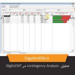 تحلیل contingency Analysis در DIgSiLENT