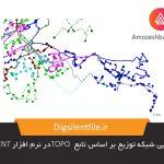باز آرایی شبکه توزیع بر اساس تابع TOPO در نرم افزار DIgSILENT