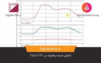 تحلیل شبه دینامیک در DIgSiLENT