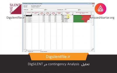 تحلیل contingency Analysis در DIgSiLENT